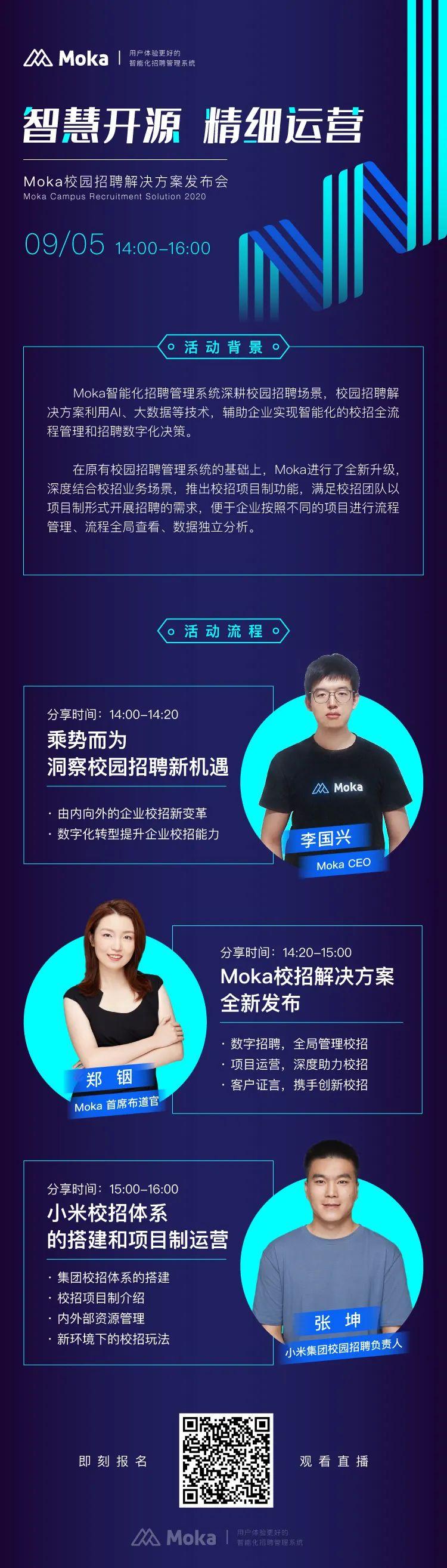 人民网专访 Moka CEO李国兴:AI助推人力资源数智化变革-Moka智能化招聘系统